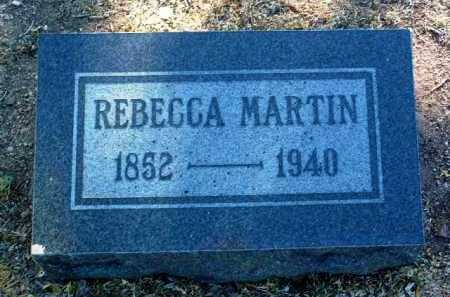 MARTIN, REBECCA - Yavapai County, Arizona | REBECCA MARTIN - Arizona Gravestone Photos