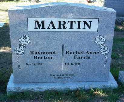 MARTIN, RAYMOND BERTON - Yavapai County, Arizona | RAYMOND BERTON MARTIN - Arizona Gravestone Photos