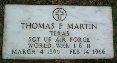 MARTIN, THOMAS F. - Yavapai County, Arizona | THOMAS F. MARTIN - Arizona Gravestone Photos