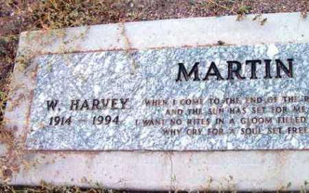 MARTIN, W. HARVEY - Yavapai County, Arizona   W. HARVEY MARTIN - Arizona Gravestone Photos