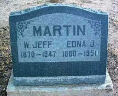 MARTIN, WILLIAM JEFFERSON - Yavapai County, Arizona | WILLIAM JEFFERSON MARTIN - Arizona Gravestone Photos