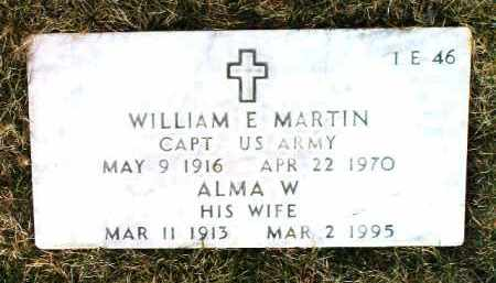 MARTIN, WILLIAM E. - Yavapai County, Arizona | WILLIAM E. MARTIN - Arizona Gravestone Photos