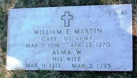 MARTIN, ALMA W. - Yavapai County, Arizona | ALMA W. MARTIN - Arizona Gravestone Photos