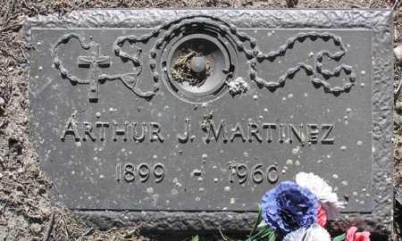 MARTINEZ, ARTHUR J. - Yavapai County, Arizona | ARTHUR J. MARTINEZ - Arizona Gravestone Photos