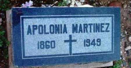 MARTINEZ, APOLONIA - Yavapai County, Arizona   APOLONIA MARTINEZ - Arizona Gravestone Photos