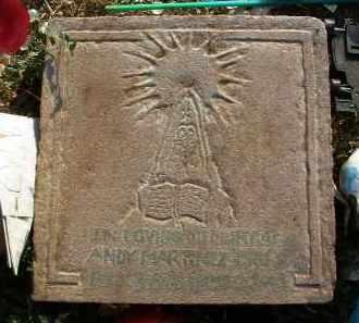 MARTINEZ, ANDY - Yavapai County, Arizona | ANDY MARTINEZ - Arizona Gravestone Photos