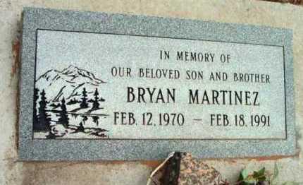 MARTINEZ, BRYAN - Yavapai County, Arizona | BRYAN MARTINEZ - Arizona Gravestone Photos