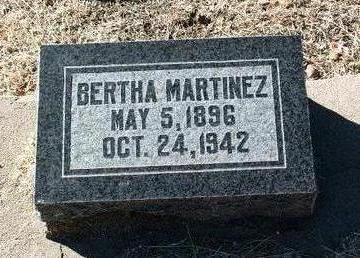 MARTINEZ, BERTHA - Yavapai County, Arizona | BERTHA MARTINEZ - Arizona Gravestone Photos