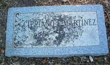 MARTINEZ, CIPRIANO T. - Yavapai County, Arizona | CIPRIANO T. MARTINEZ - Arizona Gravestone Photos