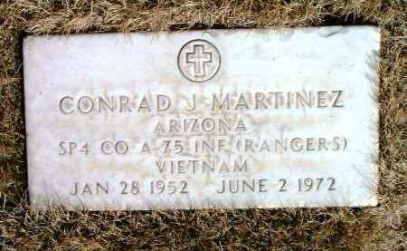 MARTINEZ, CONRAD JESSE - Yavapai County, Arizona | CONRAD JESSE MARTINEZ - Arizona Gravestone Photos