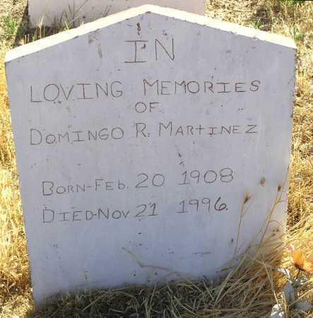 MARTINEZ, DOMINGO R. - Yavapai County, Arizona | DOMINGO R. MARTINEZ - Arizona Gravestone Photos