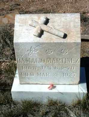 MARTINEZ, DAMACIO - Yavapai County, Arizona   DAMACIO MARTINEZ - Arizona Gravestone Photos