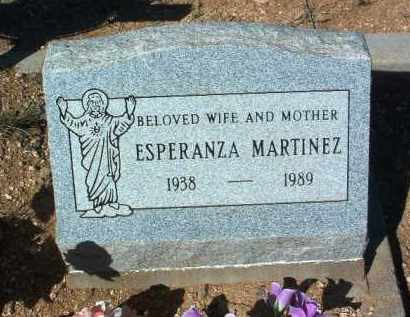 MOYA MARTINEZ, ESPERANZA - Yavapai County, Arizona | ESPERANZA MOYA MARTINEZ - Arizona Gravestone Photos