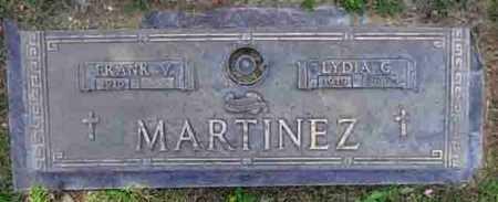 MARTINEZ, FRANK VINCENT - Yavapai County, Arizona   FRANK VINCENT MARTINEZ - Arizona Gravestone Photos