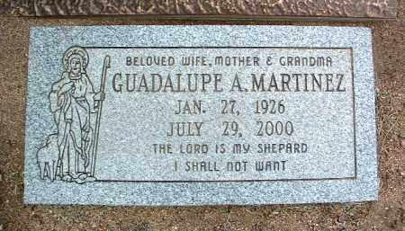 MARTINEZ, GUADALUPE A. - Yavapai County, Arizona   GUADALUPE A. MARTINEZ - Arizona Gravestone Photos