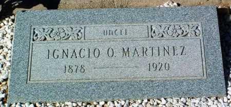MARTINEZ, IGNACIO O. - Yavapai County, Arizona   IGNACIO O. MARTINEZ - Arizona Gravestone Photos