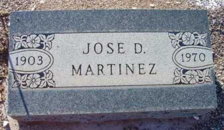 MARTINEZ, JOSE D. - Yavapai County, Arizona | JOSE D. MARTINEZ - Arizona Gravestone Photos