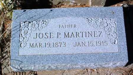 MARTINEZ, JOSE P. - Yavapai County, Arizona | JOSE P. MARTINEZ - Arizona Gravestone Photos