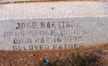 MARTINEZ, JOSE - Yavapai County, Arizona | JOSE MARTINEZ - Arizona Gravestone Photos
