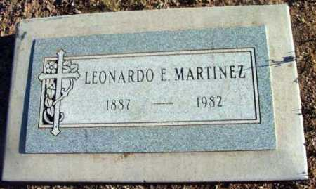 MARTINEZ, LEONARDO E. - Yavapai County, Arizona | LEONARDO E. MARTINEZ - Arizona Gravestone Photos