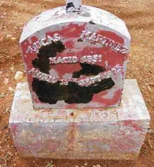 MARTINEZ, LUCAS - Yavapai County, Arizona   LUCAS MARTINEZ - Arizona Gravestone Photos
