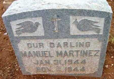 MARTINEZ, MANUEL - Yavapai County, Arizona   MANUEL MARTINEZ - Arizona Gravestone Photos