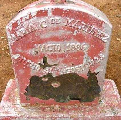 MARTINEZ, MARIA C. - Yavapai County, Arizona | MARIA C. MARTINEZ - Arizona Gravestone Photos