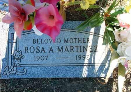 MARTINEZ, ROSA A. - Yavapai County, Arizona | ROSA A. MARTINEZ - Arizona Gravestone Photos