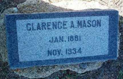 MASON, CLARENCE A. - Yavapai County, Arizona | CLARENCE A. MASON - Arizona Gravestone Photos