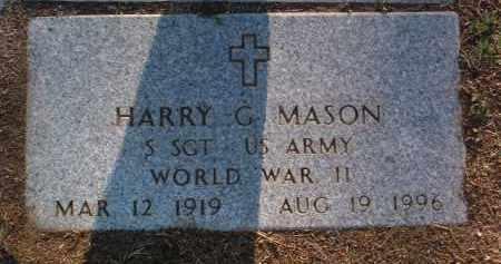 MASON, HARRY GROVER - Yavapai County, Arizona | HARRY GROVER MASON - Arizona Gravestone Photos