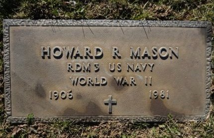 MASON, HOWARD R. - Yavapai County, Arizona | HOWARD R. MASON - Arizona Gravestone Photos