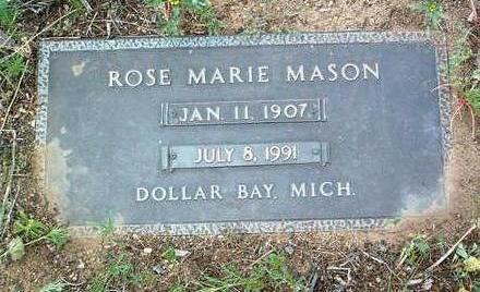 PINORD MASON, ROSE MARIE - Yavapai County, Arizona | ROSE MARIE PINORD MASON - Arizona Gravestone Photos