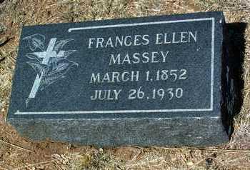 MASSEY, FRANCES ELLEN - Yavapai County, Arizona | FRANCES ELLEN MASSEY - Arizona Gravestone Photos