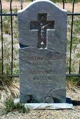 MASSONI, JOSEPHINE C. - Yavapai County, Arizona   JOSEPHINE C. MASSONI - Arizona Gravestone Photos