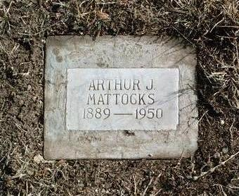 MATTOCKS, ARTHUR JAMES - Yavapai County, Arizona | ARTHUR JAMES MATTOCKS - Arizona Gravestone Photos