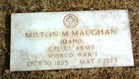 MAUGHAN, MILTON MARION - Yavapai County, Arizona | MILTON MARION MAUGHAN - Arizona Gravestone Photos