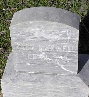 MAXWELL, LEON JAMES - Yavapai County, Arizona | LEON JAMES MAXWELL - Arizona Gravestone Photos