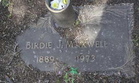 MAXWELL, BIRDIE JOSEPHINE - Yavapai County, Arizona   BIRDIE JOSEPHINE MAXWELL - Arizona Gravestone Photos