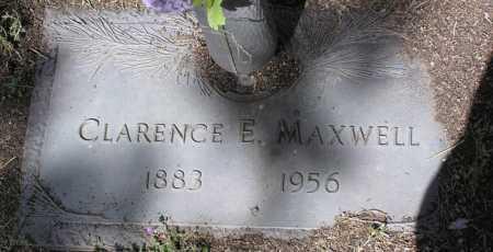 MAXWELL, CLARENCE EARNEST - Yavapai County, Arizona   CLARENCE EARNEST MAXWELL - Arizona Gravestone Photos