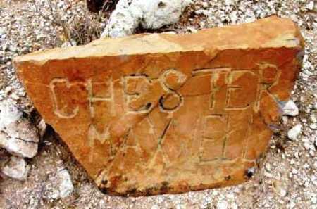 MAXWELL, CHESTER BELA - Yavapai County, Arizona   CHESTER BELA MAXWELL - Arizona Gravestone Photos