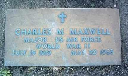MAXWELL, CHARLES M. - Yavapai County, Arizona | CHARLES M. MAXWELL - Arizona Gravestone Photos