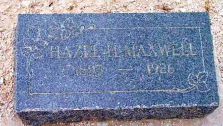 MAXWELL, HAZEL A. - Yavapai County, Arizona | HAZEL A. MAXWELL - Arizona Gravestone Photos