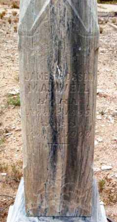 MAXWELL, JAMES ROSSON - Yavapai County, Arizona | JAMES ROSSON MAXWELL - Arizona Gravestone Photos