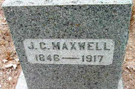 MAXWELL, J.C. (JAMES CRAWFORD) - Yavapai County, Arizona | J.C. (JAMES CRAWFORD) MAXWELL - Arizona Gravestone Photos