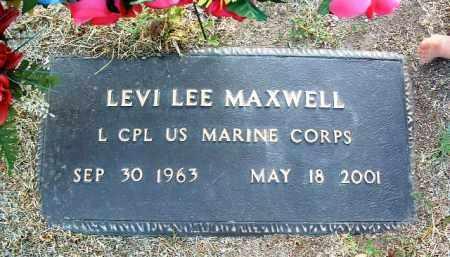 MAXWELL, LEVI LEE - Yavapai County, Arizona   LEVI LEE MAXWELL - Arizona Gravestone Photos