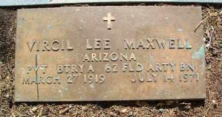 MAXWELL, VIRGIL LEE - Yavapai County, Arizona   VIRGIL LEE MAXWELL - Arizona Gravestone Photos