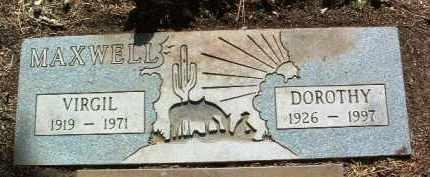 MAXWELL, VIRGIL LEE - Yavapai County, Arizona | VIRGIL LEE MAXWELL - Arizona Gravestone Photos