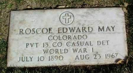 MAY, ROSCOE EDWARD - Yavapai County, Arizona | ROSCOE EDWARD MAY - Arizona Gravestone Photos