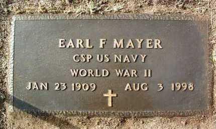 MAYER, EARL FRANCIS - Yavapai County, Arizona   EARL FRANCIS MAYER - Arizona Gravestone Photos