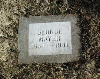 MAYER, GEORGE - Yavapai County, Arizona   GEORGE MAYER - Arizona Gravestone Photos